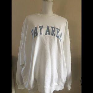 Brandy Melville oversize Erica Bay Area sweatshirt